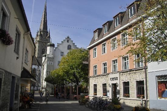 Kreuz: Ansicht Südost mit Österreichischem Schlößchen