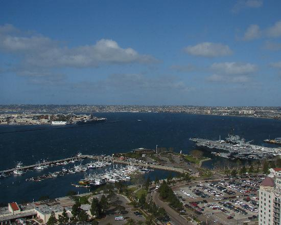 Manchester Grand Hyatt San Diego: View of the Harbor from our room