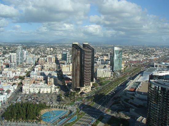 Manchester Grand Hyatt San Diego: San Diego Cityscape
