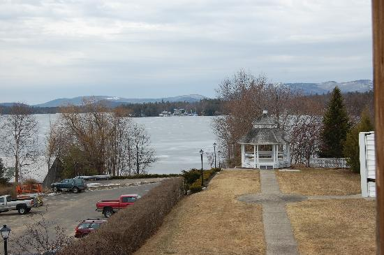 Wolfeboro, Нью-Гэмпшир: view from room deck