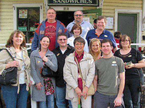 The St. Augustine Pub Crawl: Our fellow Pub Crawlers