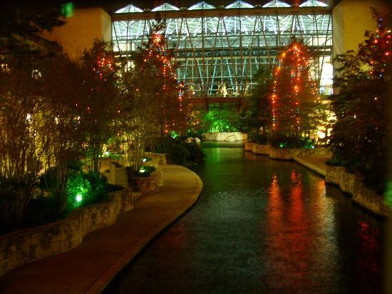 River Walk: part of the RiverWalk during the holidays