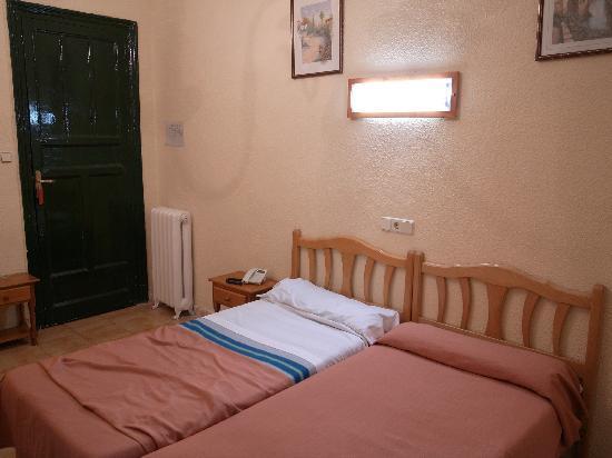 Galicia Hostel : la chambre