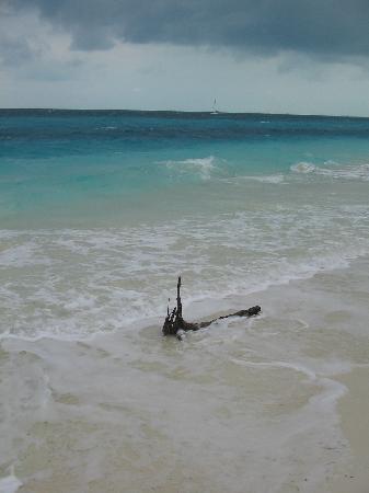 Sol Cayo Largo: playa sirena in un giorno di brutto tempo