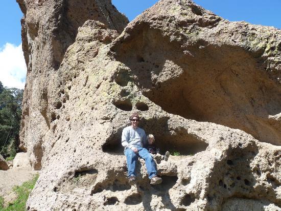 Malibu Creek State Park: Along trail to Rock Pond.