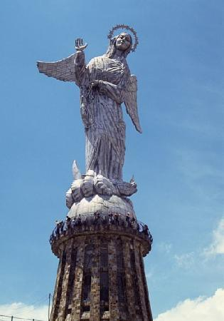 Quito Old Town: Winged Virgin of Quito