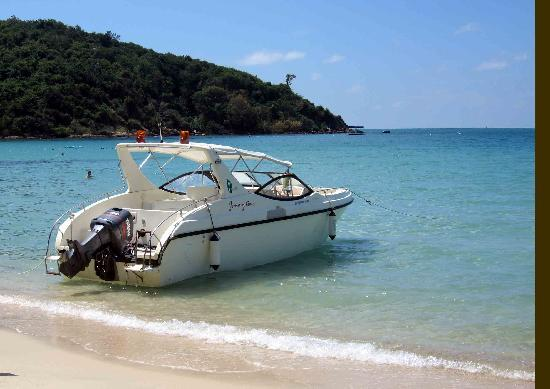 Ao Prao Resort: Transfer boat