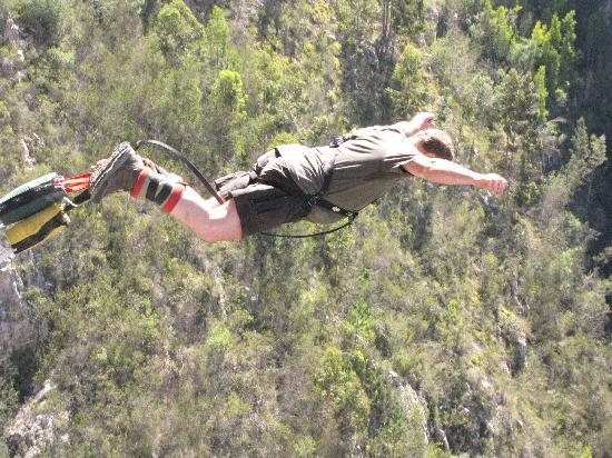 Face Adrenalin - Bloukrans Bungy: Four seconds of free fall