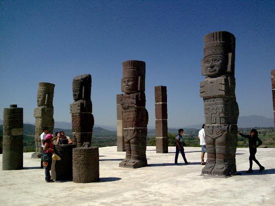 Тула-де-Альенде, Мексика: Tula Hidalgo, México. Atlantes
