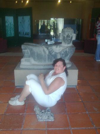 Tula Hidalgo, México. El Chac Mool Tolteca