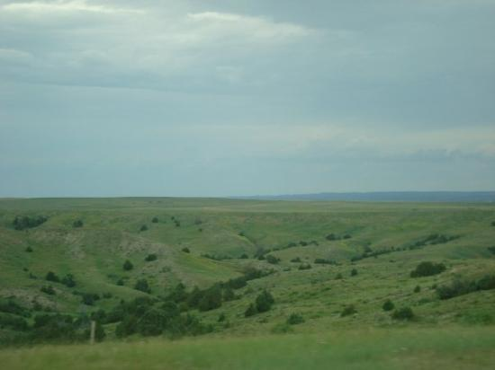 Spearfish, SD: Scenic view through SD