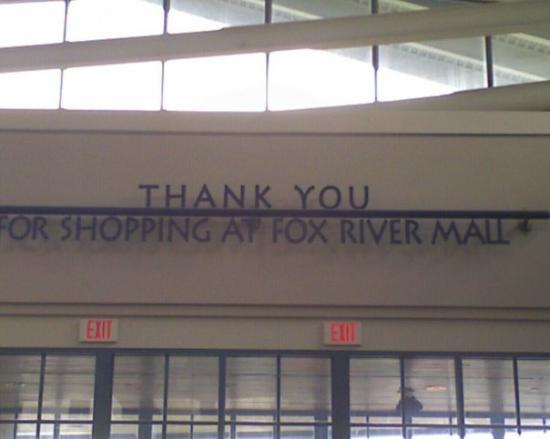 Fox River Mall in Appleton