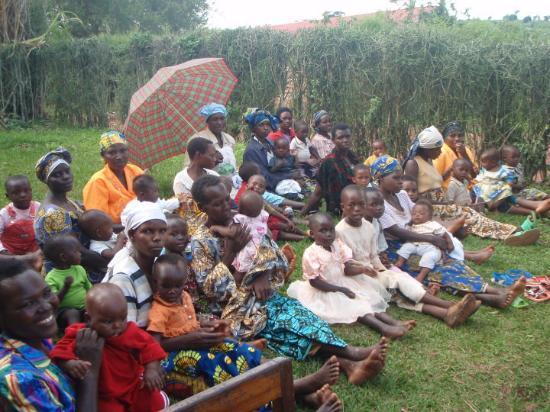 Kibungo, Rwanda: community health day