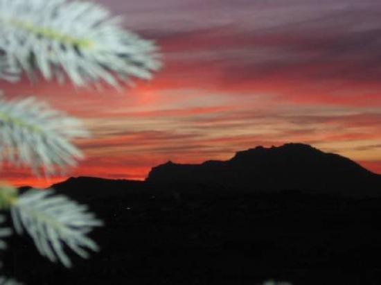 SOFTNESS CARESSING THE SANTA RITA MOUNTAINS ..Tucson Arizona