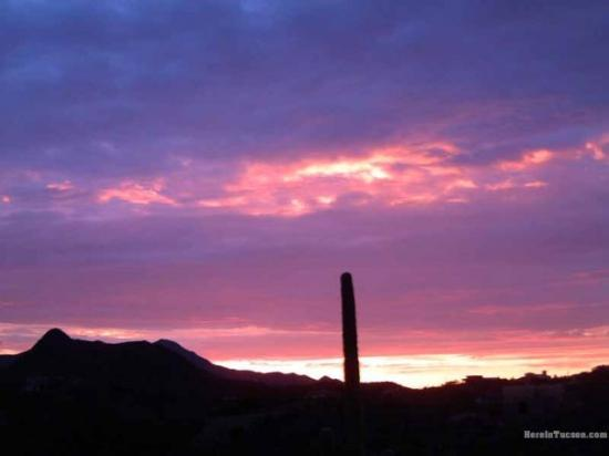 Tucson, AZ: SAVORING EACH MOMENT OF THE EVENING  SKY