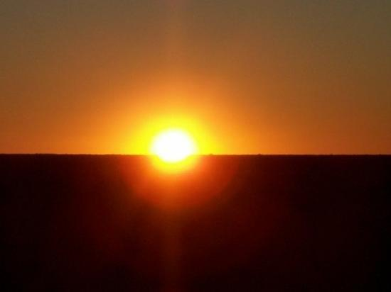 Alice Springs, Australia: The start to the day Northern territory