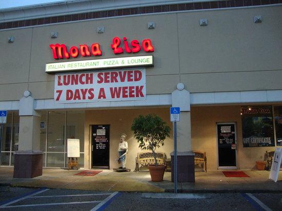Mona Lisa Italian Restaurant Fort Myers Menu Prices Reviews Tripadvisor