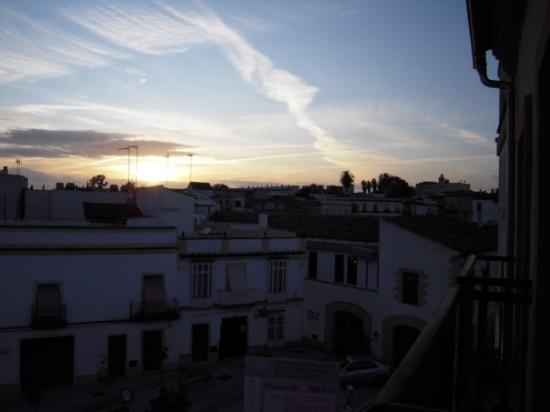 Cadiz, Spania: View from my room