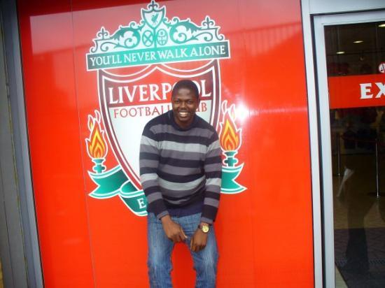 Anfield Stadium: I never walk alone