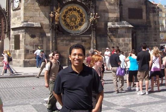 Gamlebyens rådhus med det astronomiske uret: Astronomical Clock, Praha