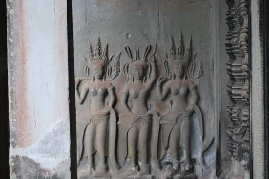 Angkor Wat: These women must have been quite extraordinary to have been featured on this prominent structure
