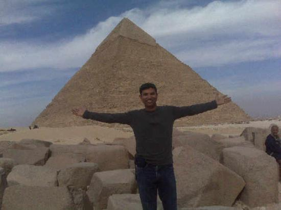 Pyramidene i Giza: Finally....... at the Great Pyramids of Giza!!!!!