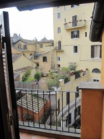 Hotel Teatro Pace: view from balcony