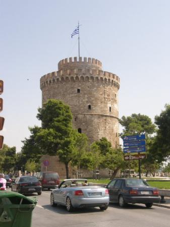 Thessaloniki, Hellas: la tour blanche