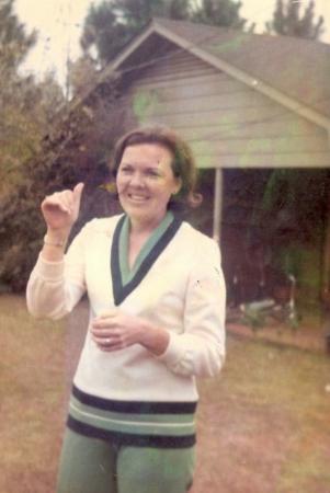 Dawson, GA: My wonderful Nene, after whom I'm named