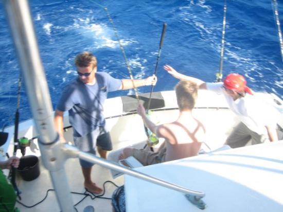 Antigua: Deep-See-Fishing,