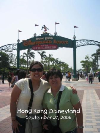 Bilde fra Hong Kong Disneyland