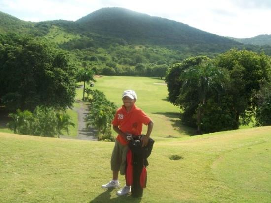 St. Croix: Marcus At Carambola golf Course - 2008