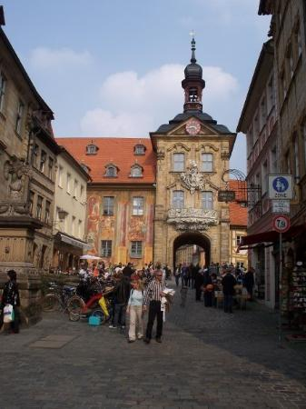 Great area downtown Bamberg