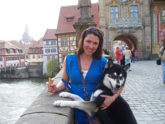 Bamberg, Tyskland: He's a goober