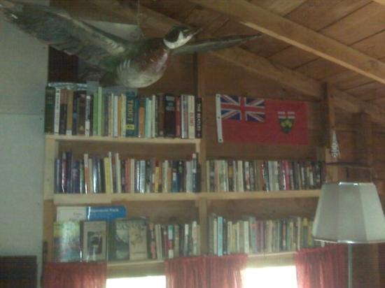 Algonquin Provincial Park, Canada: Cottage Library