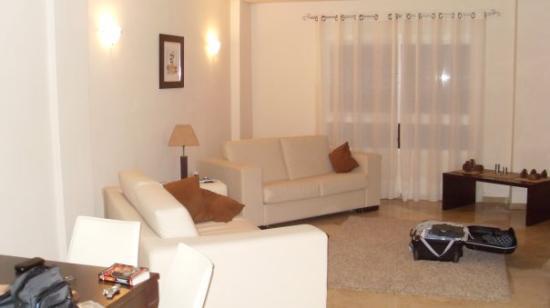 Fuengirola, Spania: living room