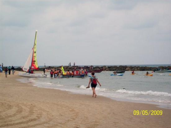 Netanya, Israele: Sea scouts