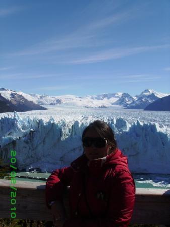 El Calafate, Argentina: EN LAS PASARELAS..