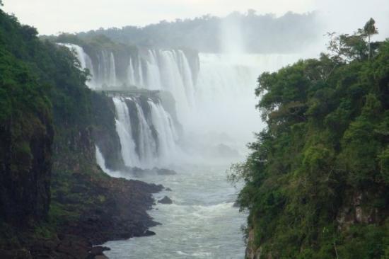 Cataratas del Iguazú: Close up