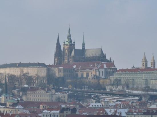 Praha Slott: En mi imaginación de la infancia, así se veía el castillo de Dracula.