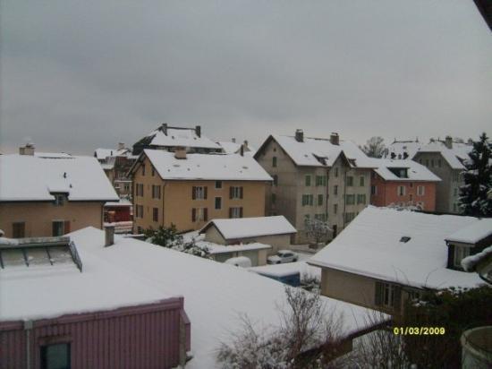 Neuchâtel, Sveits: la ciudad de Neuchatel...