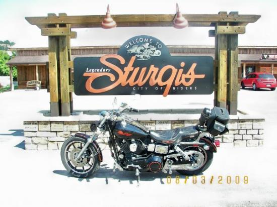 Finally made it to Sturgis.....My Sturgis at Sturgis, SD