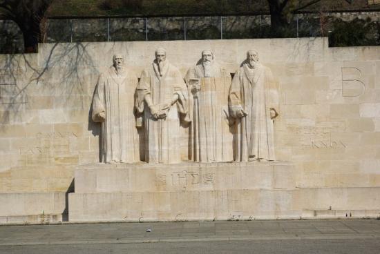 Reformation Wall (Mur de la Reformation): A Nagyok....