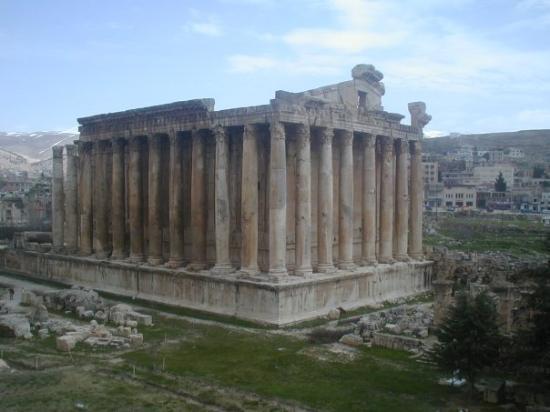 temple de venus à baalbeck (Liban)