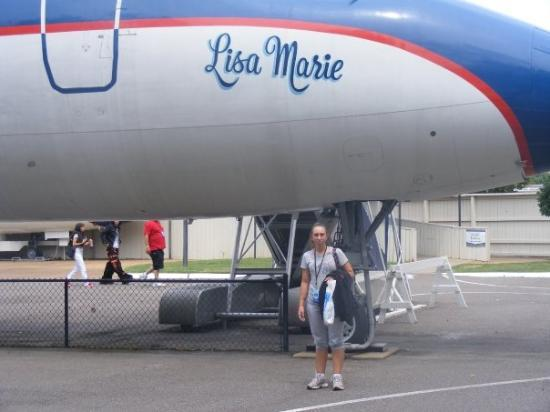 Memphis, TN: ELVIS'S PLANE CALLED LISA MARIE IT WAS AMAZING INSIDE
