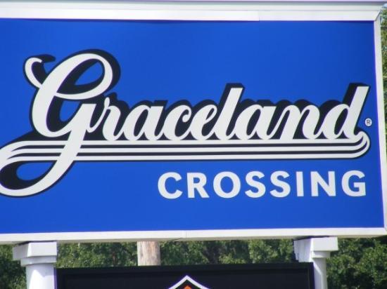 Memphis, TN: Graceland Crossing Sign