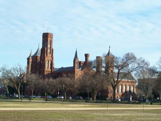 Smithsonian Institution Building: one little part of the Smithsonian DC
