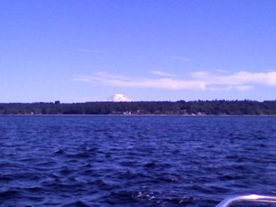 Mount Ranier from Vaughn Bay!!