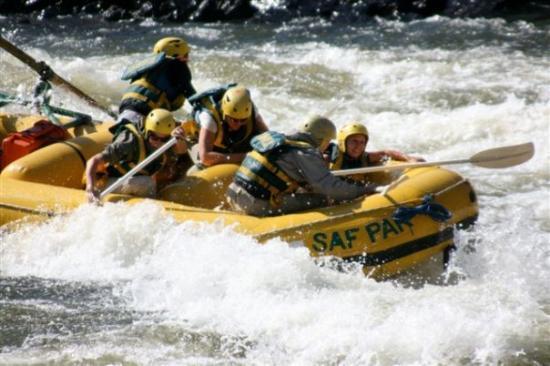 Maun, Botswana: White Water Rafting in Zambia...Victoria Falls