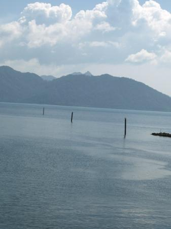 View from the ferry to Koh Chang island